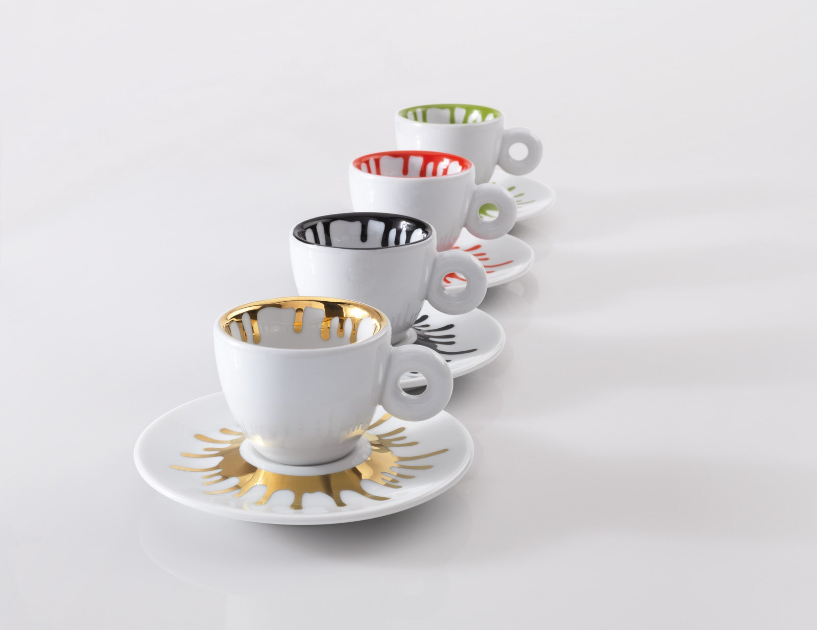 Ai Weiweis espresso cups for Illy.