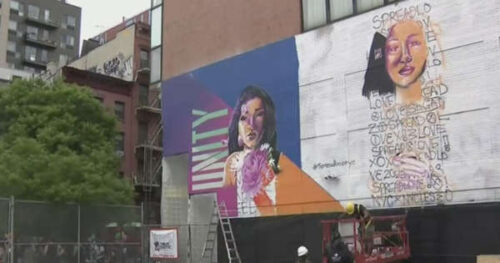 Rallies In Manhattan, Brooklyn Use Art And Culture To Combat Anti-Asian Hate